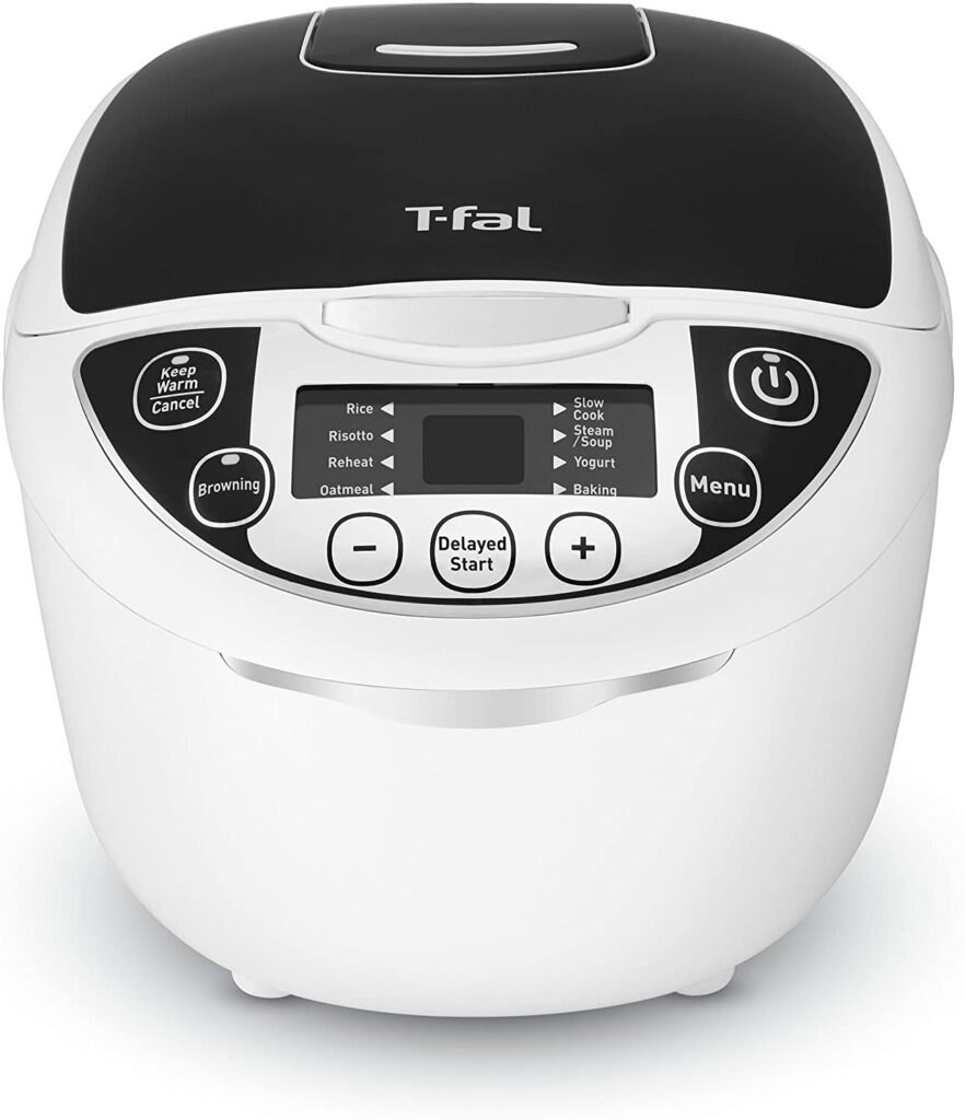 best multi cooker 2021 - t-fal rk705851 10 in 1