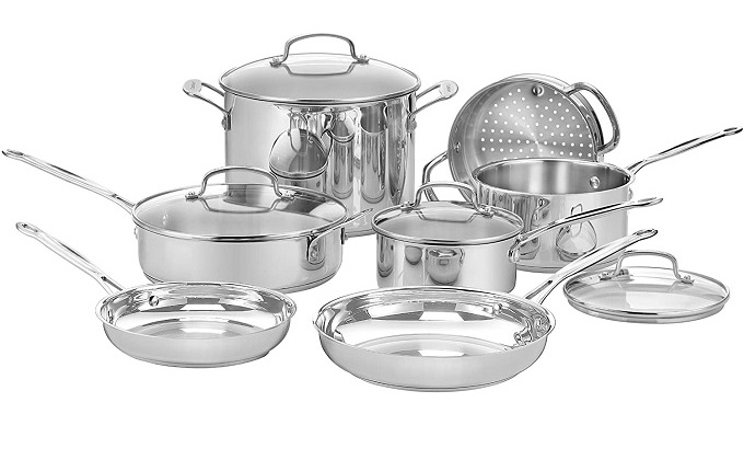 Cuisinart 77-11G Chefs Classic Stainless Cookware Set