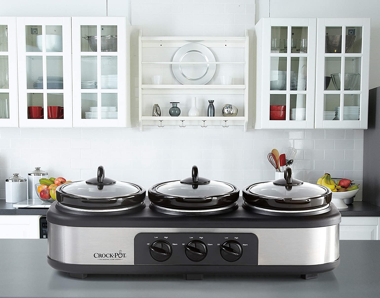 crock-pot Triple Slow Cooker