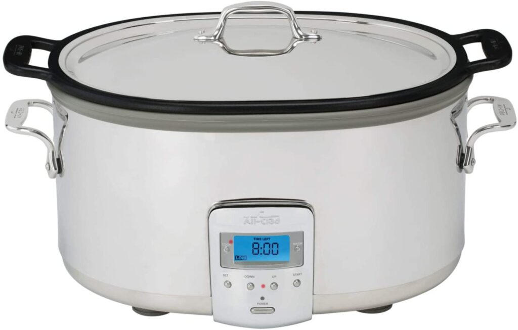 All-Clad SD700350 Slow cooker, 7 Quart Silver